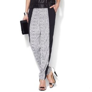 Adorable black & white W118 by Walter Baker Pants